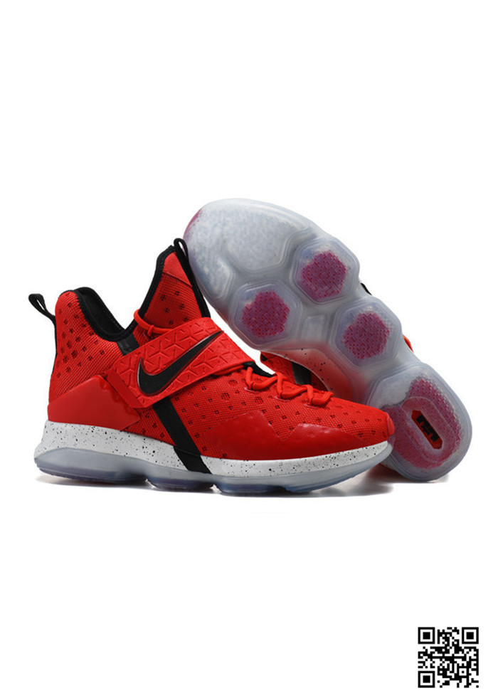 HJK-689556 Sale Nike Lebron 14 Red Black