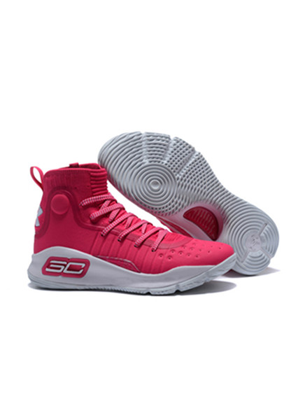2018 UA New Stephen Curry 4 Pink White